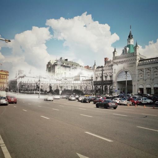 Третьяковские ворота и Китайгородская стена