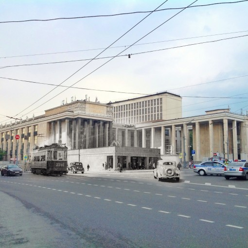 Вестибюль станции Улица Коминтерна