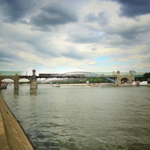 Пушкинский (Андреевский) пешеходный мост